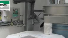 Vibrations Taumelsiebmaschine für Chemie